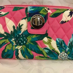 Factory Style Turnlock Wallet Tropical Paradise